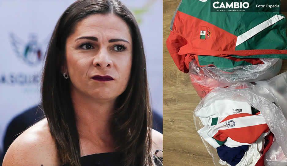 Ana Guevara regaña a boxeadoras que acusaron a jugadoras de tirar los uniformes