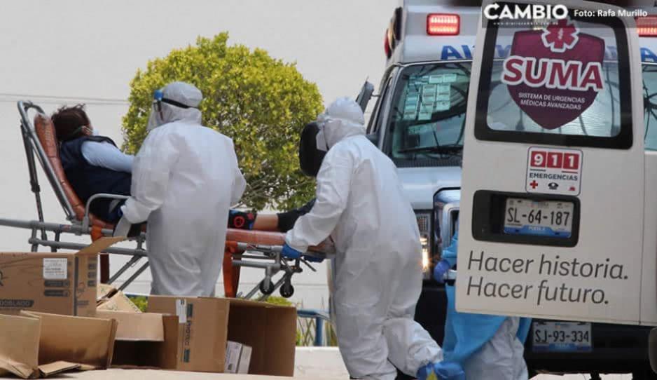 Con 102 contagios, 53 muertos y 978 hospitalizados, Puebla tuvo su registro más bajo en la tercera ola COVID