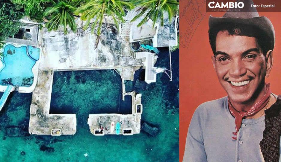 TikTokers difunden imágenes de la mansión abandonada de Cantinflas (VIDEO)