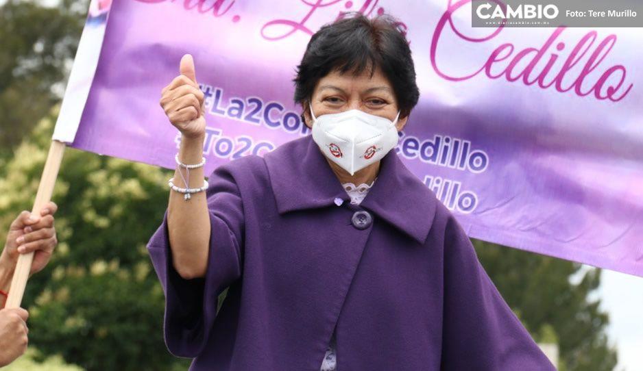 Oficial: Lilia Cedillo arrasa en elección para la rectoría BUAP con 72 mil 787 votos