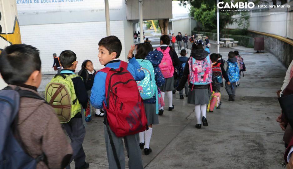 Padres de familia rechazan regreso a clases presenciales en Puebla