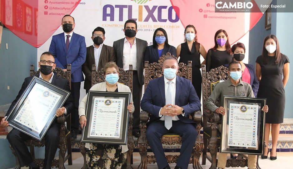 """Celebra Atlixco su fundación entregando el galardón """"Atlixquense Distinguido 2021"""""""