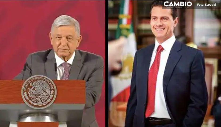 AMLO revela que no le interesa el espionaje de Peña Nieto: ´no quise saber´