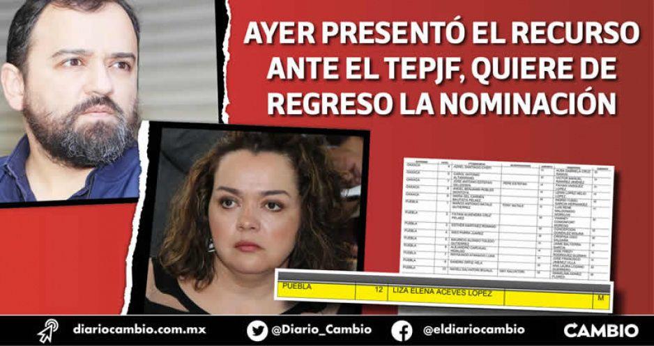 Rompen René y Liza: INE la registra a ella, pero él impugna y no la deja hacer campaña