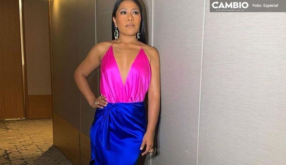 Yalitza Aparicio enloquece las redes sociales con su vestido en los Golden Globes (VIDEO)