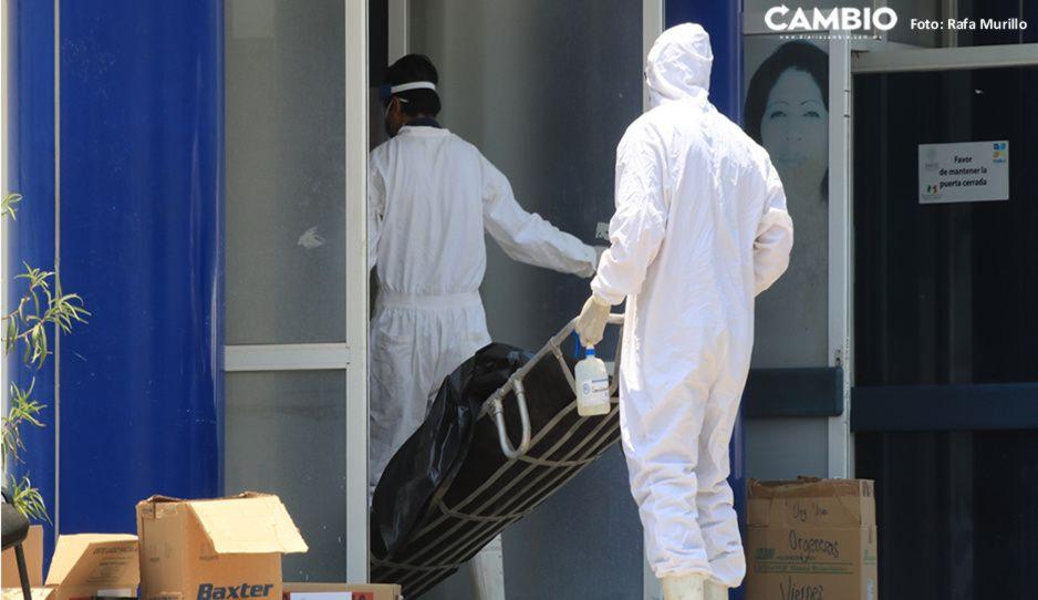 Puebla cierra la semana con 39 muertos, 482 contagios y 937 hospitalizados por COVID