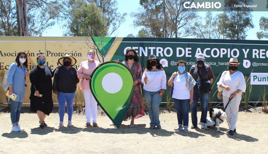 """Inauguran la zona """"Punto Verde"""" en Haras Ciudad Ecológica (FOTOS)"""