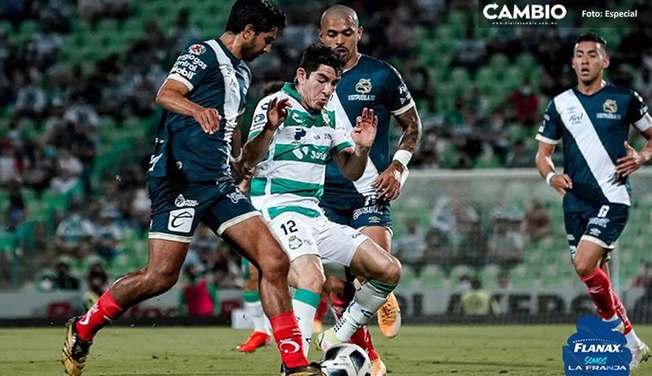 ¡Partido de infarto! Santos empata al Puebla con gol de último minuto (VIDEO)