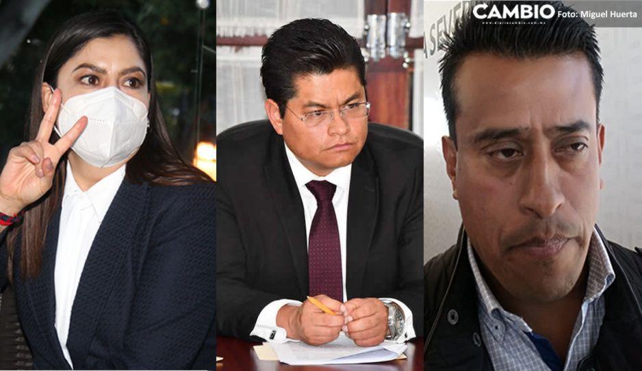 Ingresan al Congreso solicitudes para destituir a Claudia, Teutli y Florencio Camacho