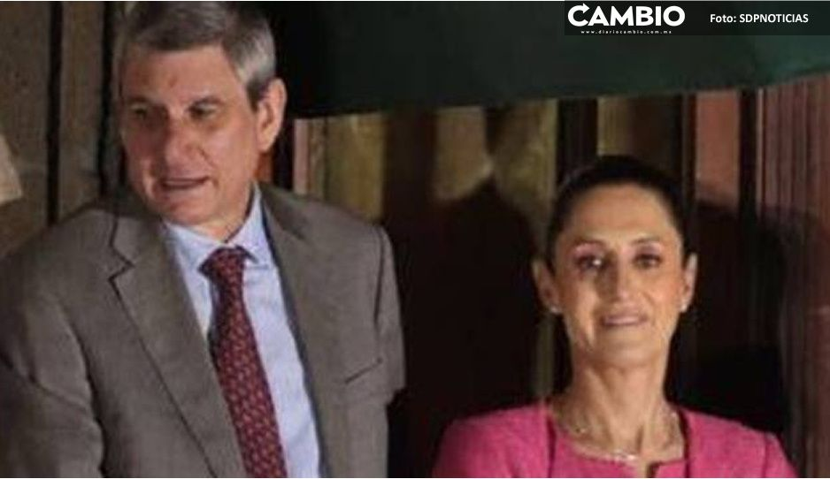 Se revela quien era la pareja de Claudia Sheinbaum en la ceremonia del Grito de independencia