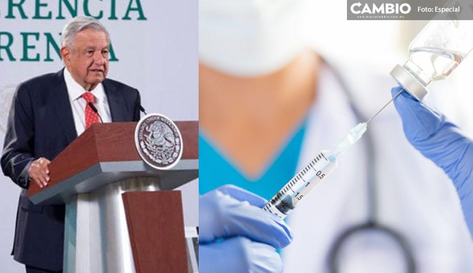 ¡Sin espectáculos! AMLO sí se vacunará contra el Covid la próxima semana