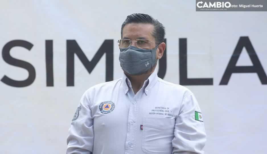 Lalo Rivera no me ha propuesto continuar al frente de Protección Civil: Ariza Salvatori