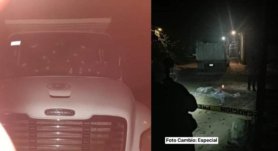 Balacera contra traileros deja dos muertos y cinco heridos en la sierra norte de Puebla