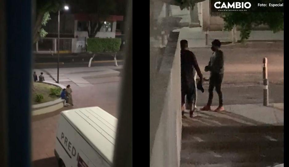 Acusan a manifestantes de recibir dinero para tomar presidencia en Tehuacán (VIDEO)