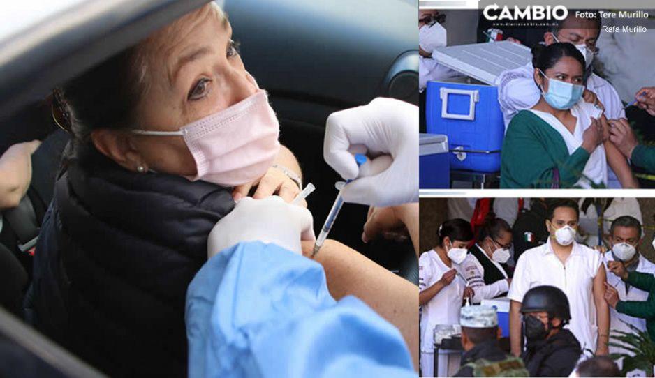¿Estamos salvados? Inmunidad comunitaria ha impedido tercera ola de COVID en Puebla: SSA