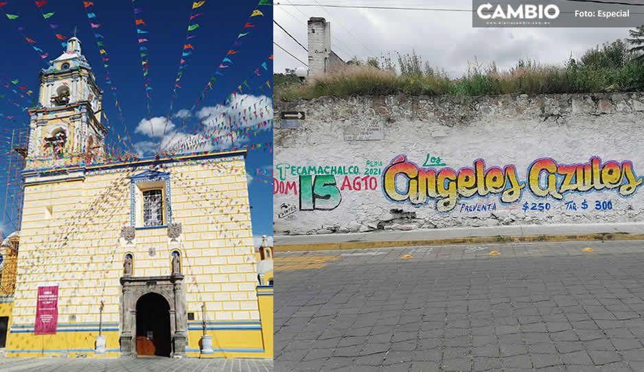 Cancelan la Feria Patronal y baile de Tecamachalco ante tercera ola COVID