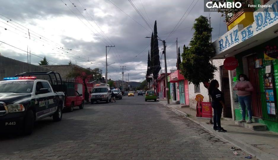 ¡Qué familia¡ Hombre es acuchillado y baleado por su propio suegro y cuñada en hotel de Tehuacán
