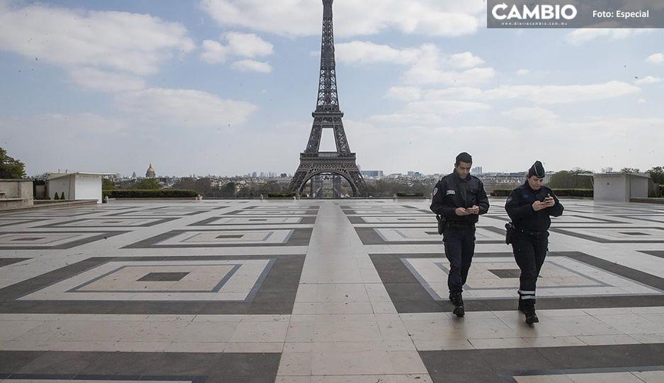 ¡Los contagios no paran! París entra al tercer confinamiento por Covid