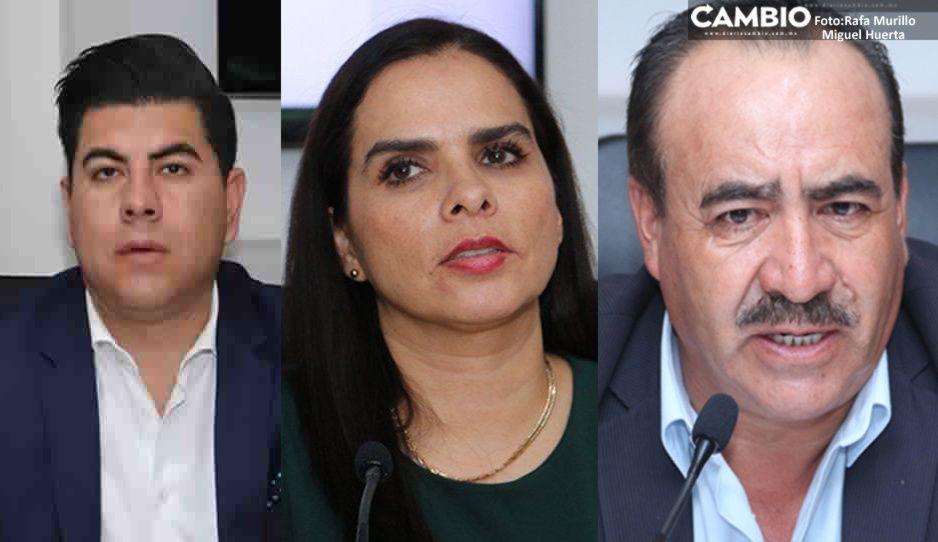Regresan cuatro chapulines perdedores al Congreso de Puebla