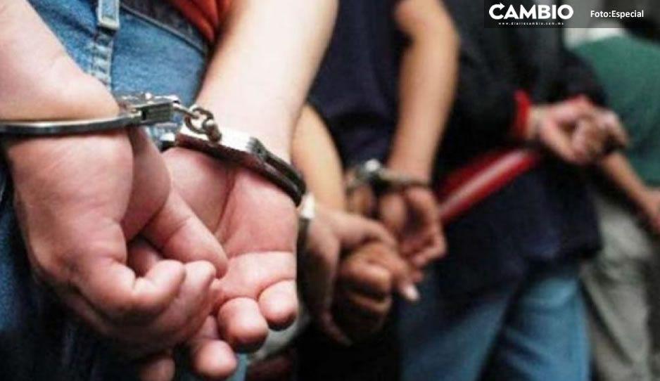 Enfrentamiento deja a cuatro detenidos y un herido en Huejotzingo
