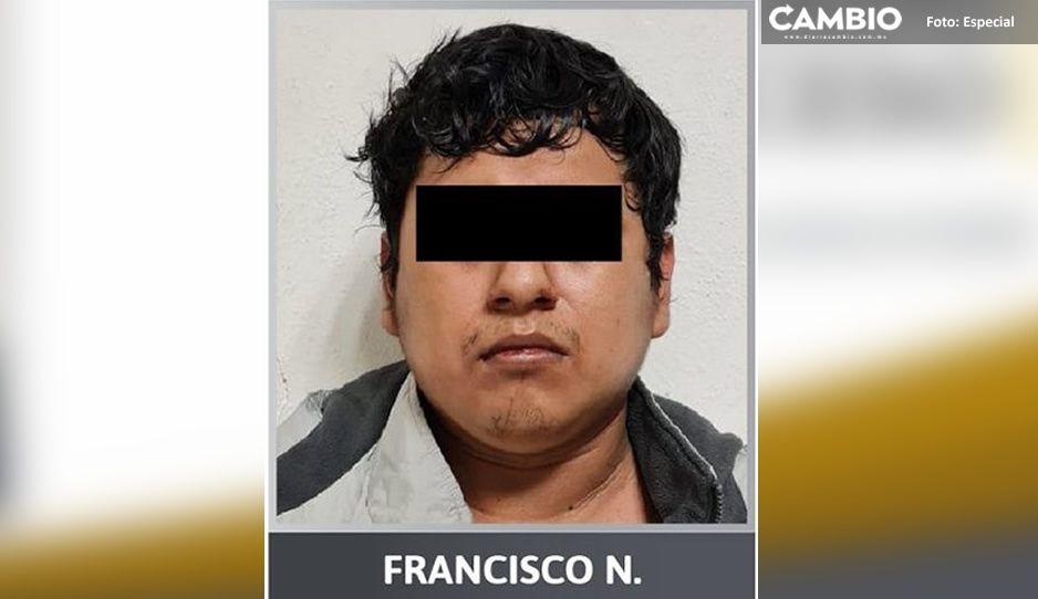 Detienen a Francisco por trata de personas; guardaba pornografía infantil en sus celulares