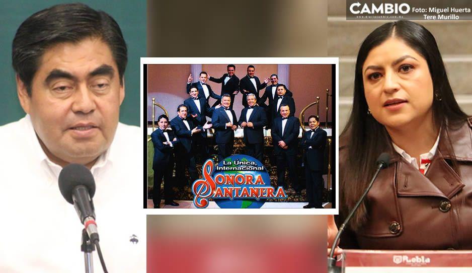 Guerra de Sonoras Santaneras: una estará en Casa Aguayo y otra con Claudia