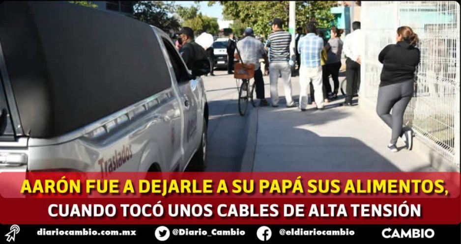 Muere electrocutado niñito de 13 años en Huaquechula