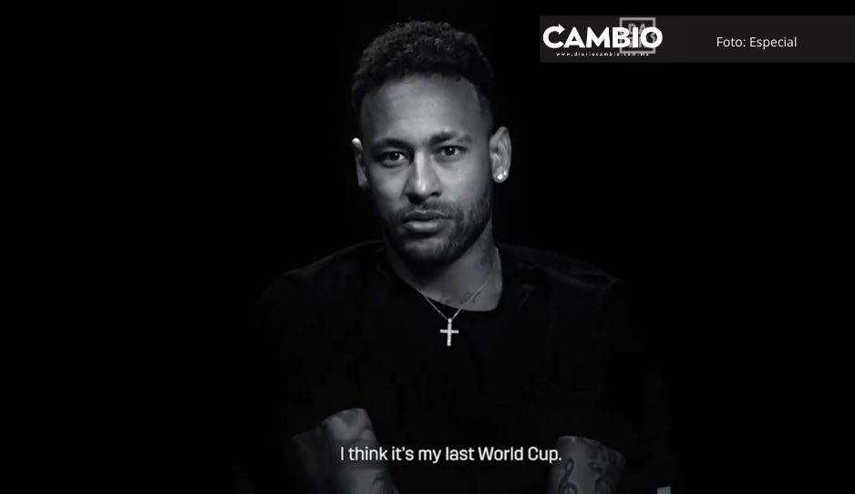 Creo que Qatar será mi último Mundial, dice Neymar