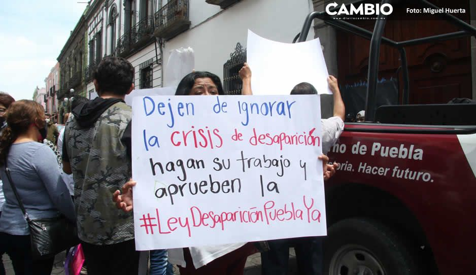 Diputados panistas presionan para tener sesión extraordinaria y aprobar Ley de los Desaparecidos (FOTOS Y VIDEO)