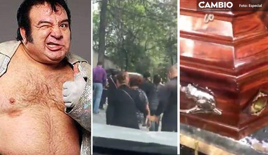 VIDEO: Así fue la emotiva despedida a Súper Porky en el panteón