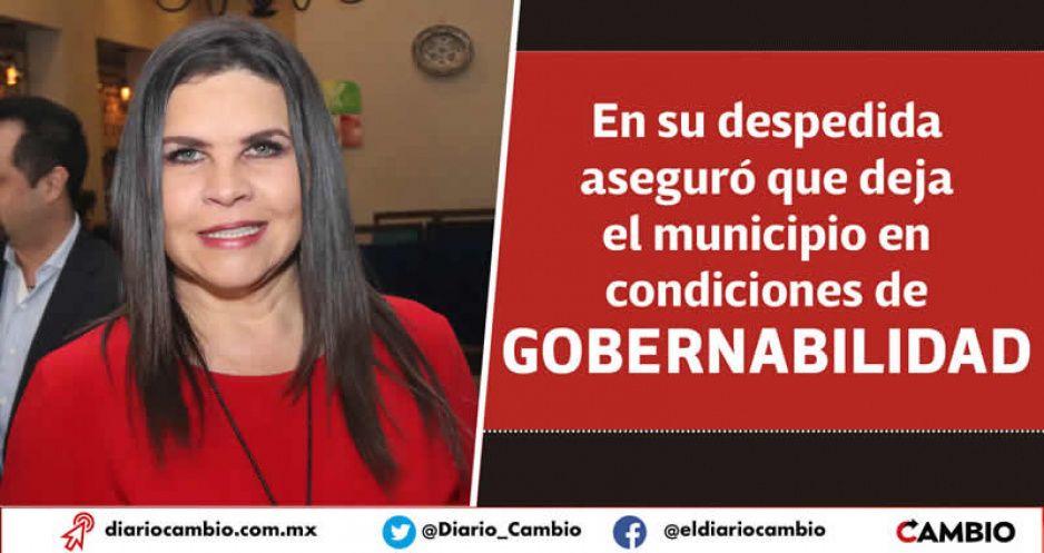 Norma Layón se va el 16 de marzo a buscar la reelección de San Martín Texmelucan