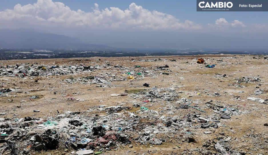 Tehuacán promete nuevo relleno sanitario; pero desconoce cómo cubrir 70 millones de pesos