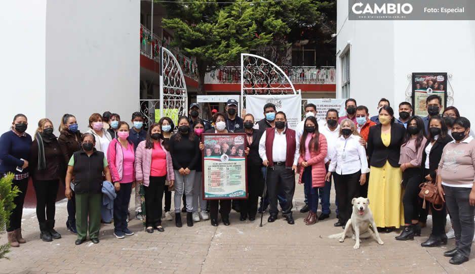 Gobierno de Amozoc coloca Bando Solemne de Fiestas Patrias 2021