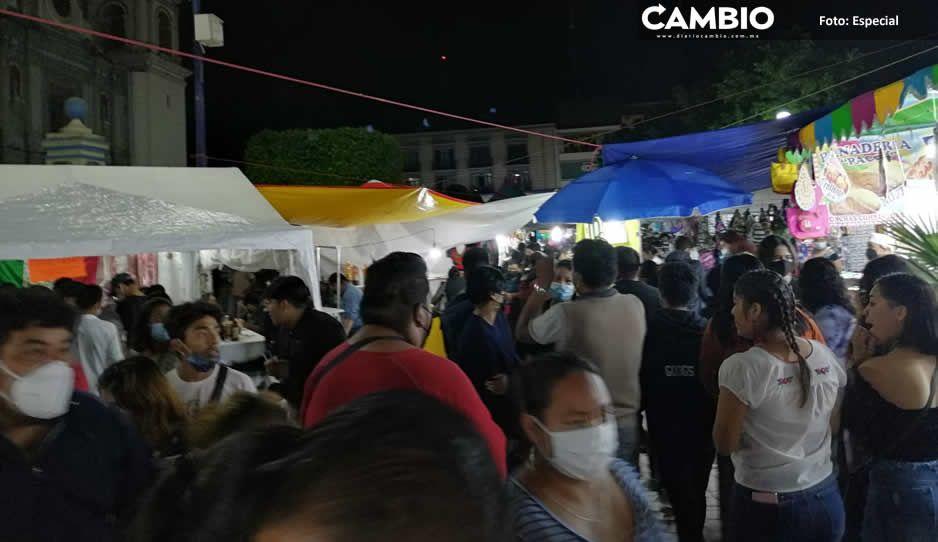 Tehuacán, tierra covidiota: tehuacaneros se desbordan para festejar el 15 de septiembre