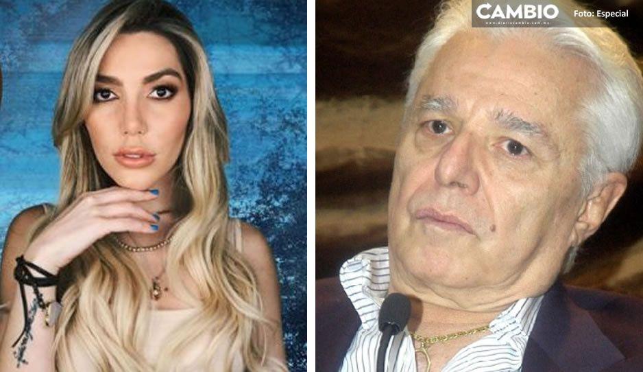 """Enrique Guzmán abusó de mí """"es un hombre asqueroso"""": acusa Frida Sofía (VIDEO)"""