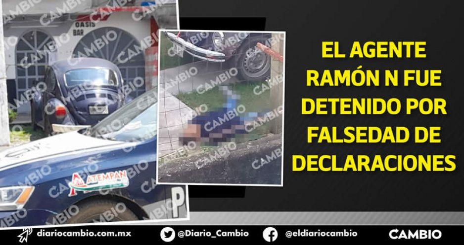 Agente ministerial mató a su compañero y a un albañil durante la noche mexicana en Atempan