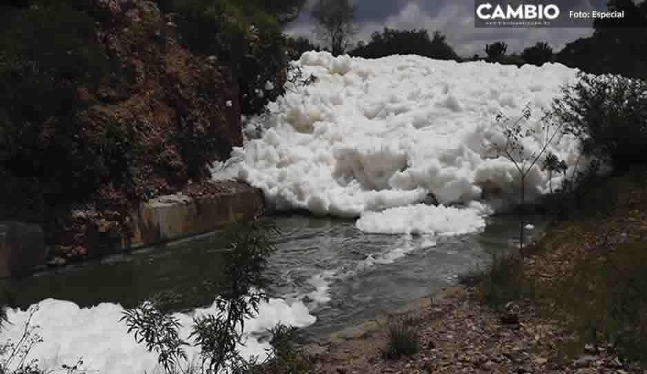 Exceso de jabones y fertilizantes provocaron la nube toxica en Valsequillo: Soapap