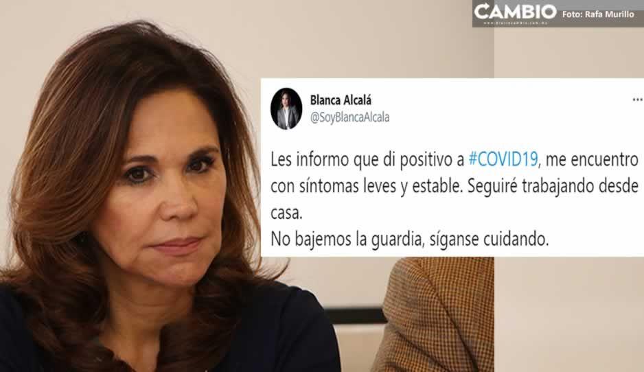 ¡COVID sigue atacando a priistas! Blanca Alcalá da positivo al virus