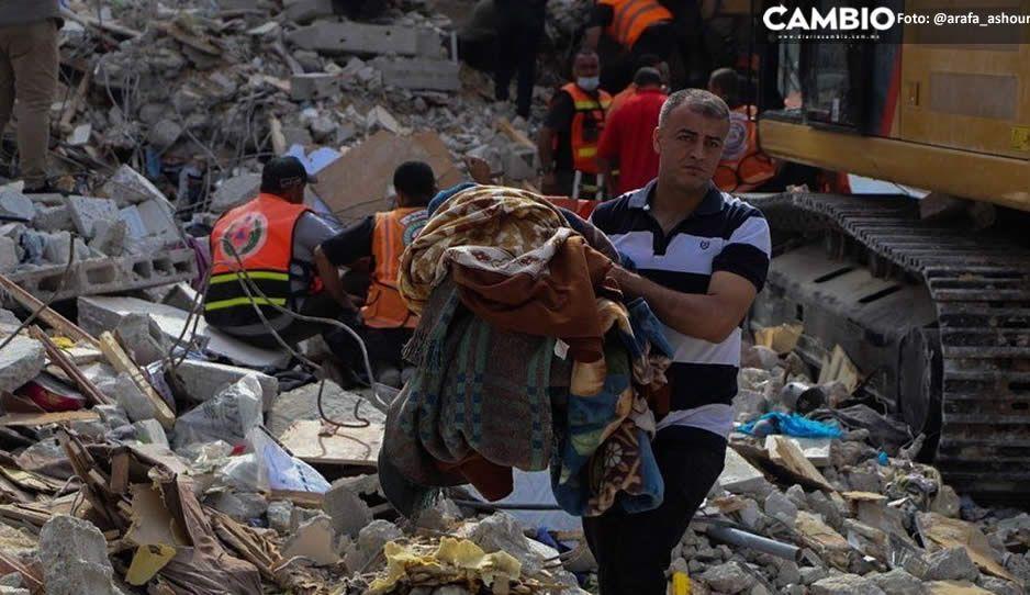 ¡Aterradora matanza! Bombardeo israelí en Gaza deja 33 muertos, ocho eran niñitos (FOTOS y VIDEO)