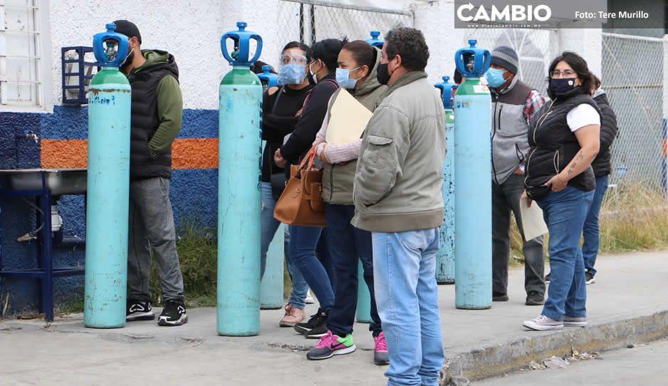 Empeora la crisis por tanques de oxígeno: suben 2 mil pesos en una semana y empiezan los robos