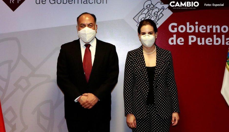 David Méndez se despide oficialmente de la Segob; Ana Lucia Hill toma protesta
