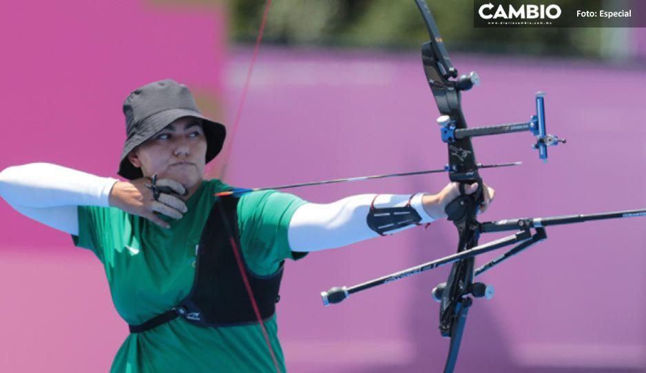 ¡Orgullo mexicano! Alejandra Valencia avanza a cuartos de final de tiro con arco en Tokio