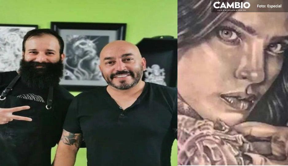 3 horas tardó el tatuador de Lupillo Rivera en cubrir el tatuaje con el rostro de Belinda