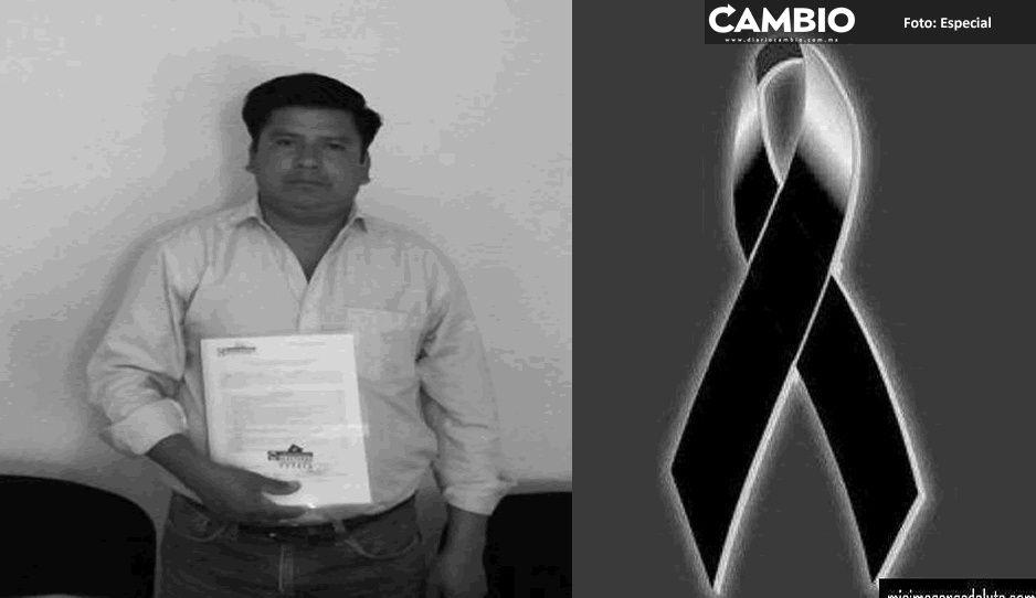 COVID  se lleva a otro edil de Puebla: Muere alcalde de Hermenegildo Galeana