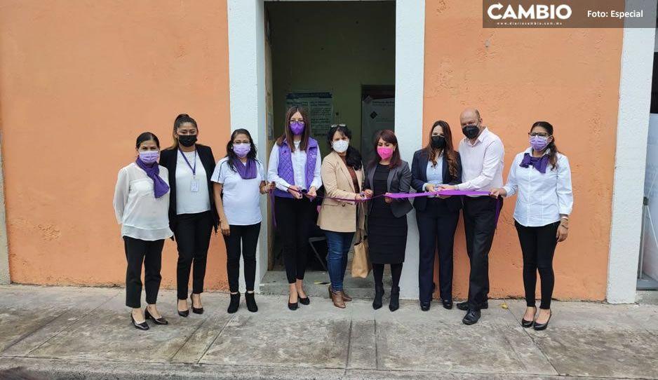 Inauguran Unidad de Atención a Mujeres víctimas de violencia en Atlixco