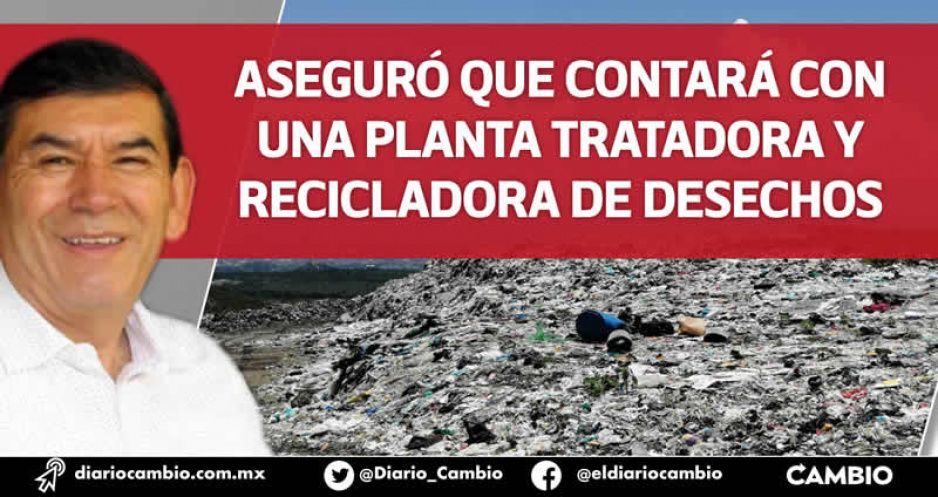 Tepole ya cuenta con cuatro propuestas de predios para el nuevo relleno en Tehuacán