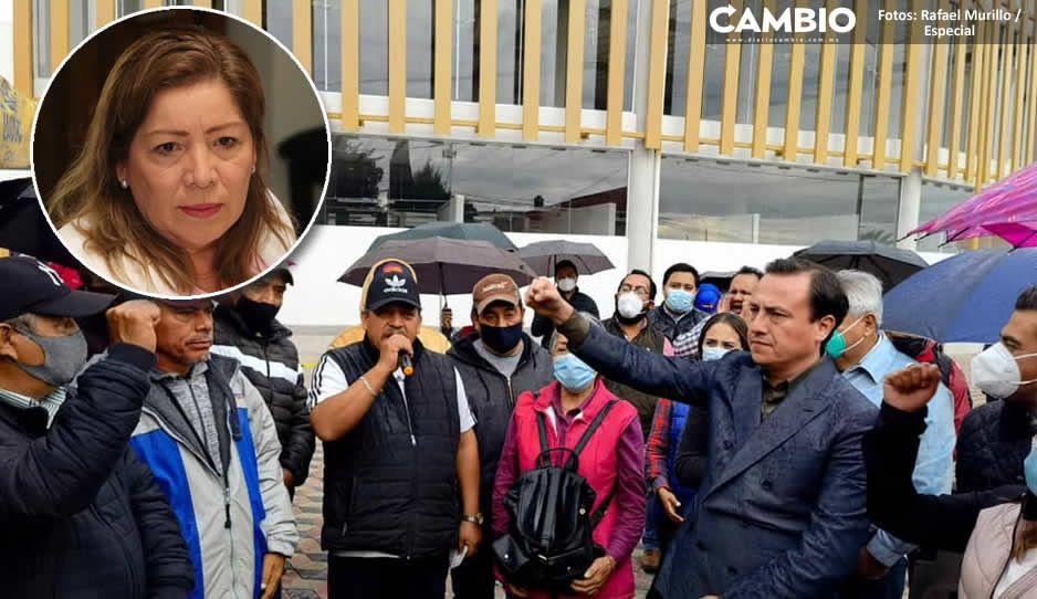 Marisol alista el uso de la fuerza pública para retomar el control del Mercado Ayocuan