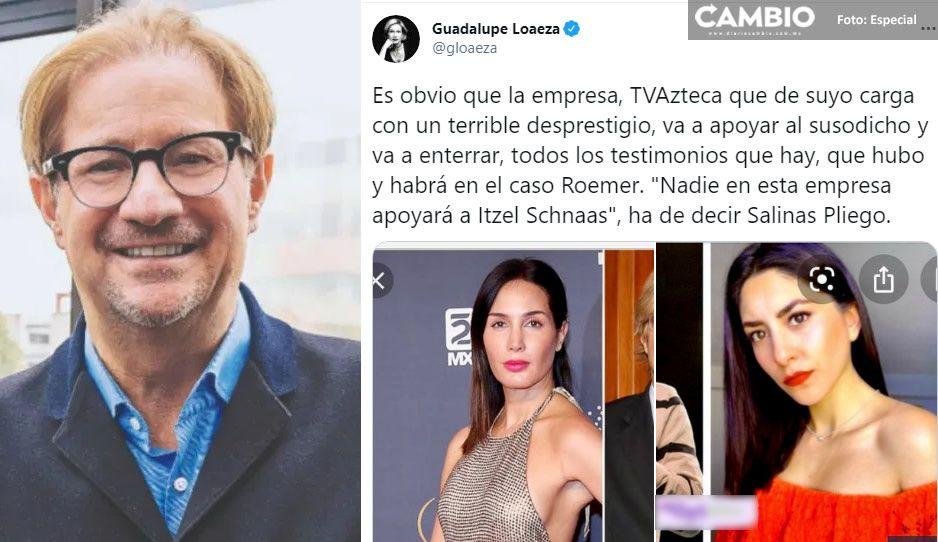 Señalan a TV Azteca por cobijar a Roemer, tras acusaciones de abuso sexual