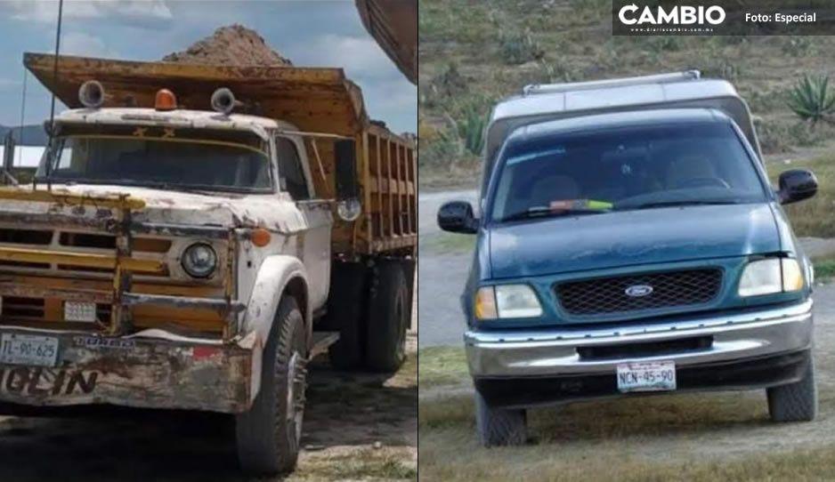 Robo de autos imparable en Triángulo Rojo; ahora una camioneta y un camión de volteo