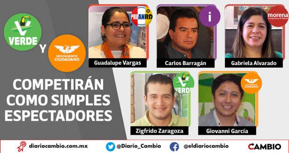Lupe Vargas, Carlos Barragán y Gabriela Alvarado en duelo de caciques por el control de Xicotepec
